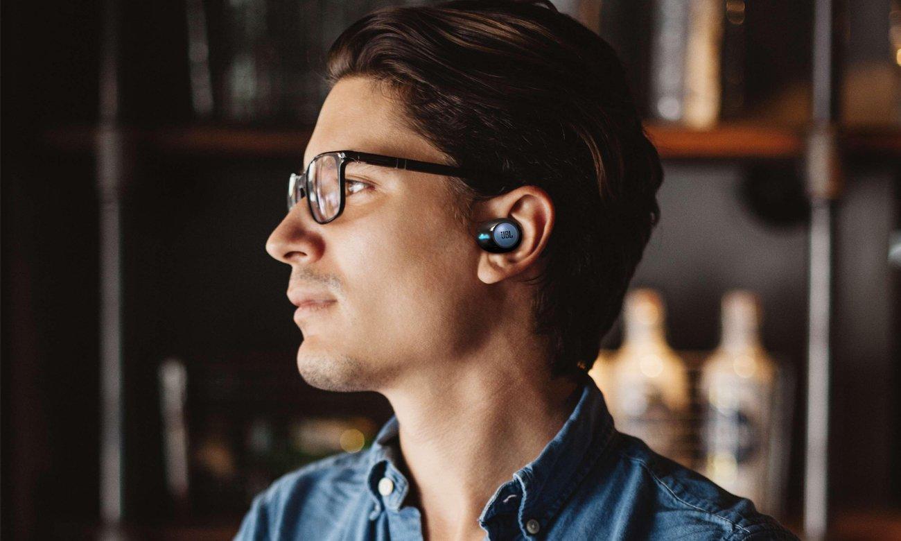 Wygodne słuchawki dokanałowe JBL Tune 120TWS