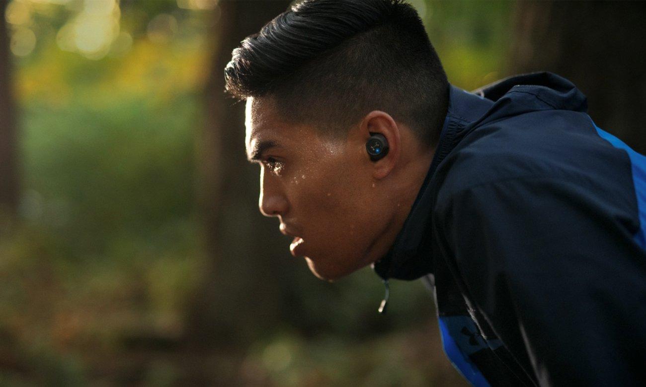 Wodoodporne słuchawki bezprzewodowe JBL Under Armour Flash