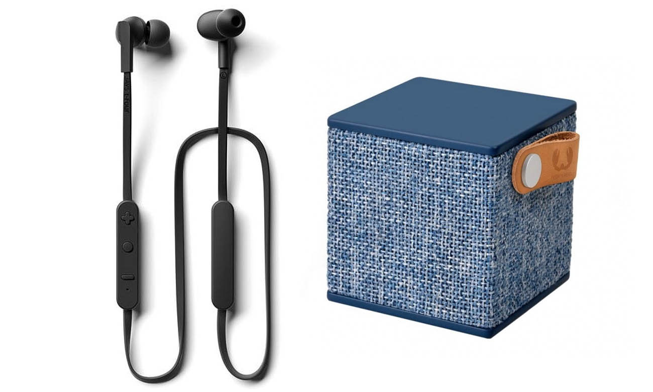 Słuchawki Jays t-Four Wireless+ Fresh 'N Rebel Rockbox Cube Fabriq Edition