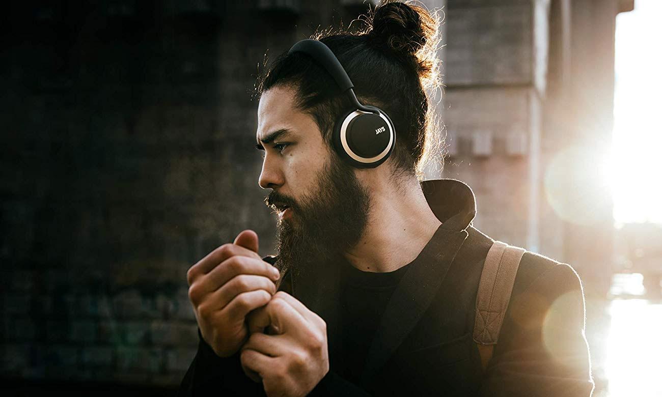 Słuchawki u-JAYS Wireless pracujące w trybie pasywnym