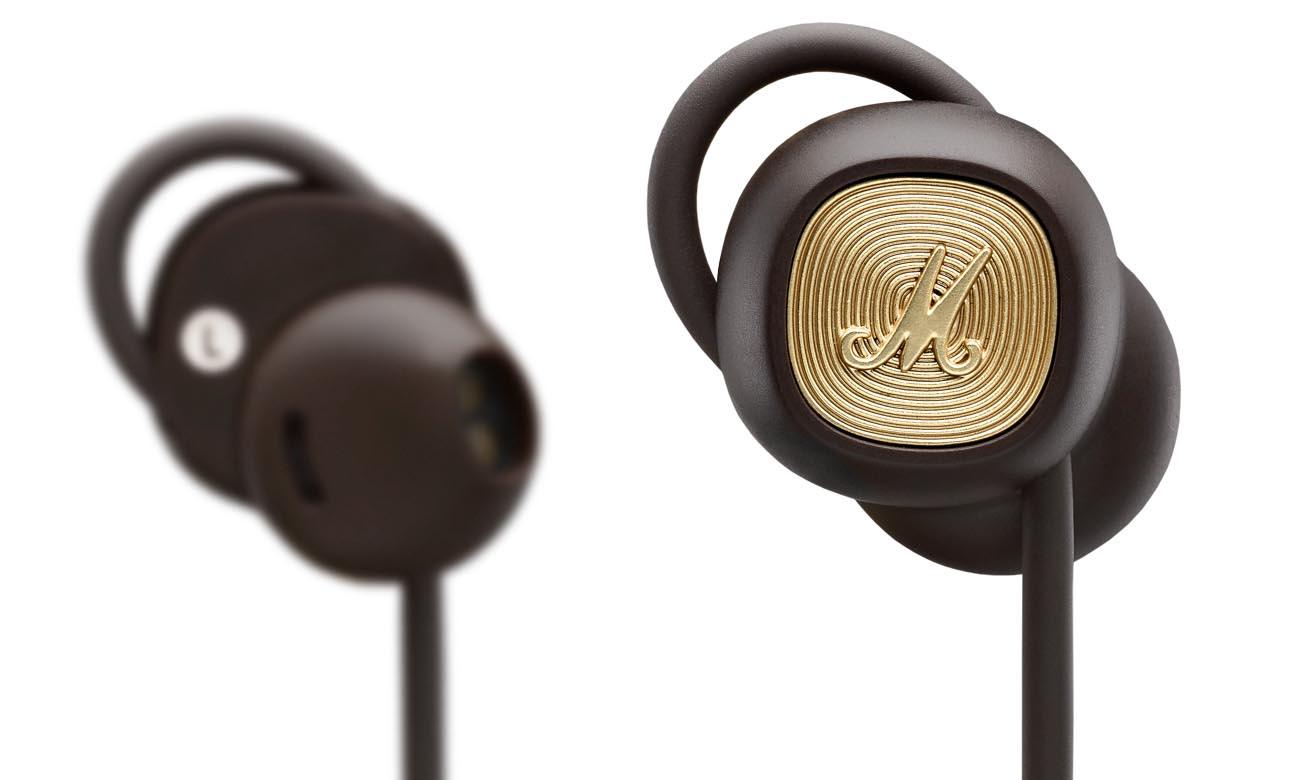 Słuchawki bezprzewodowe Marshall Minor II Brown