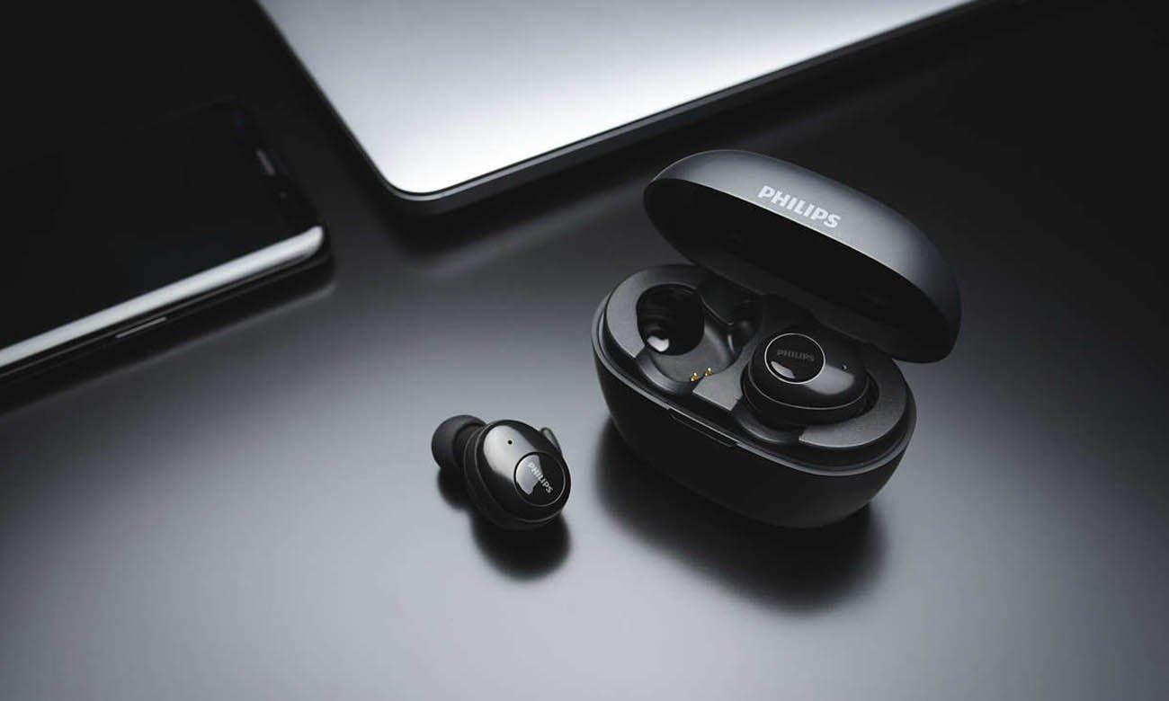 Etui ładujące z słuchawkami Bluetooth Philips SHB2505WT