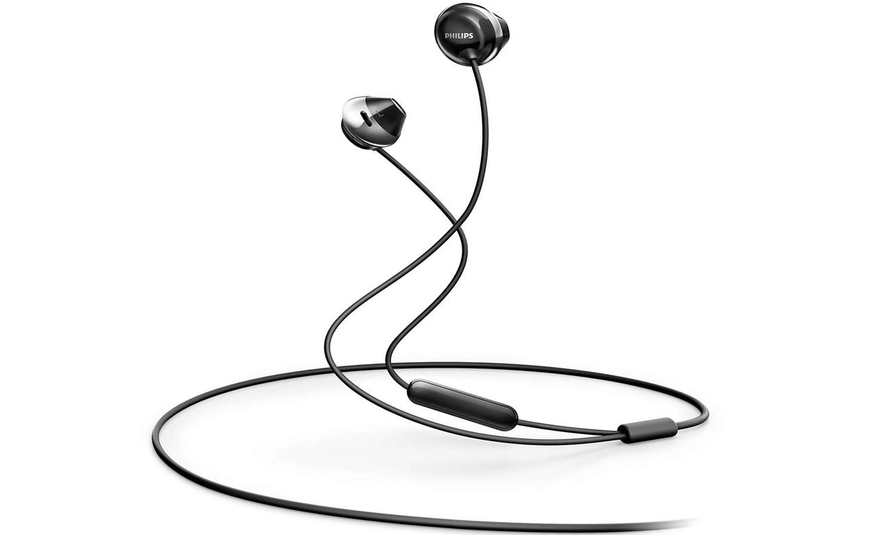 Słuchawki przewodowe Philips SHE4205BK czarne