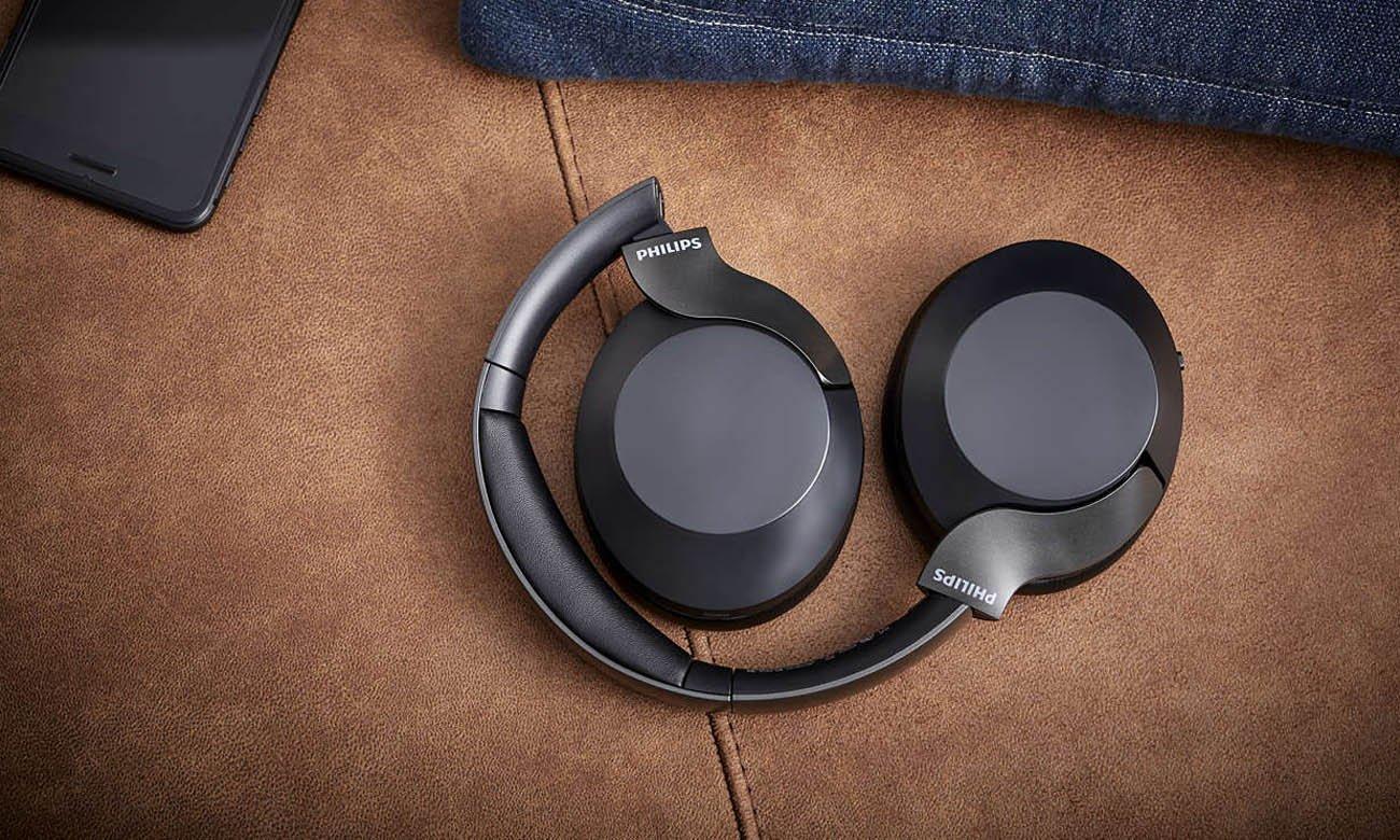 Słuchawki bezprzewodowe Philips TAPH805BK sterowane dotykiem i głosem