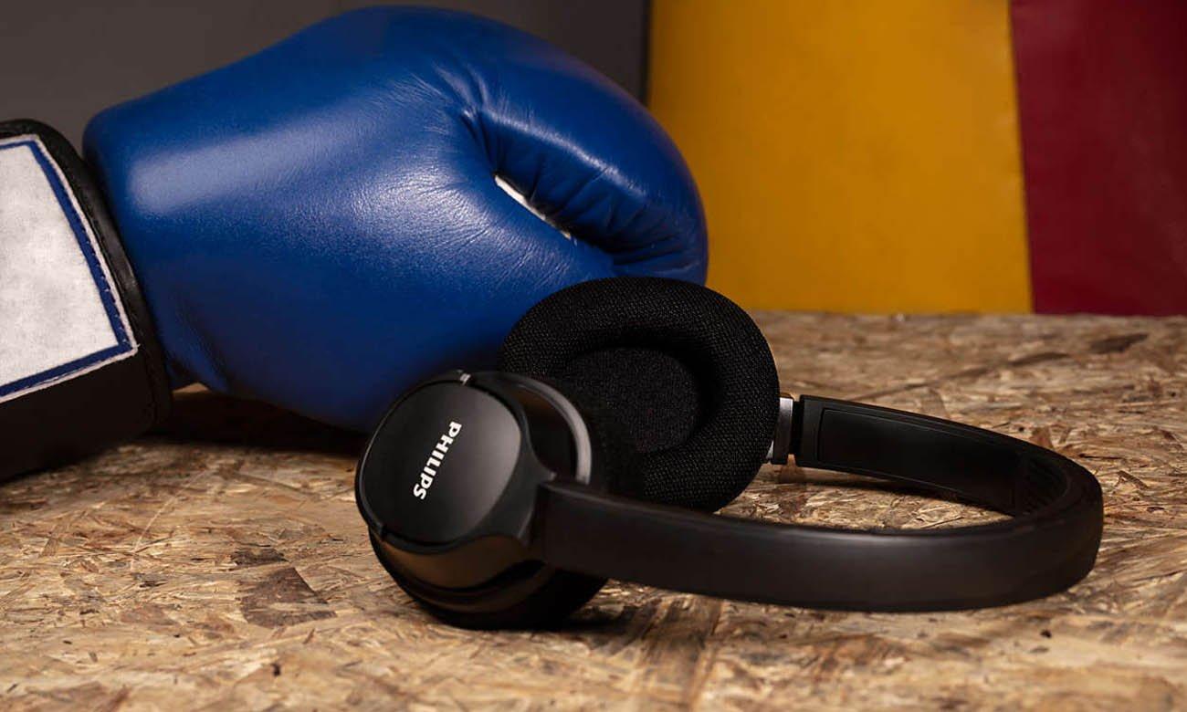 Wygodne słuchawki Philips TASH402BK