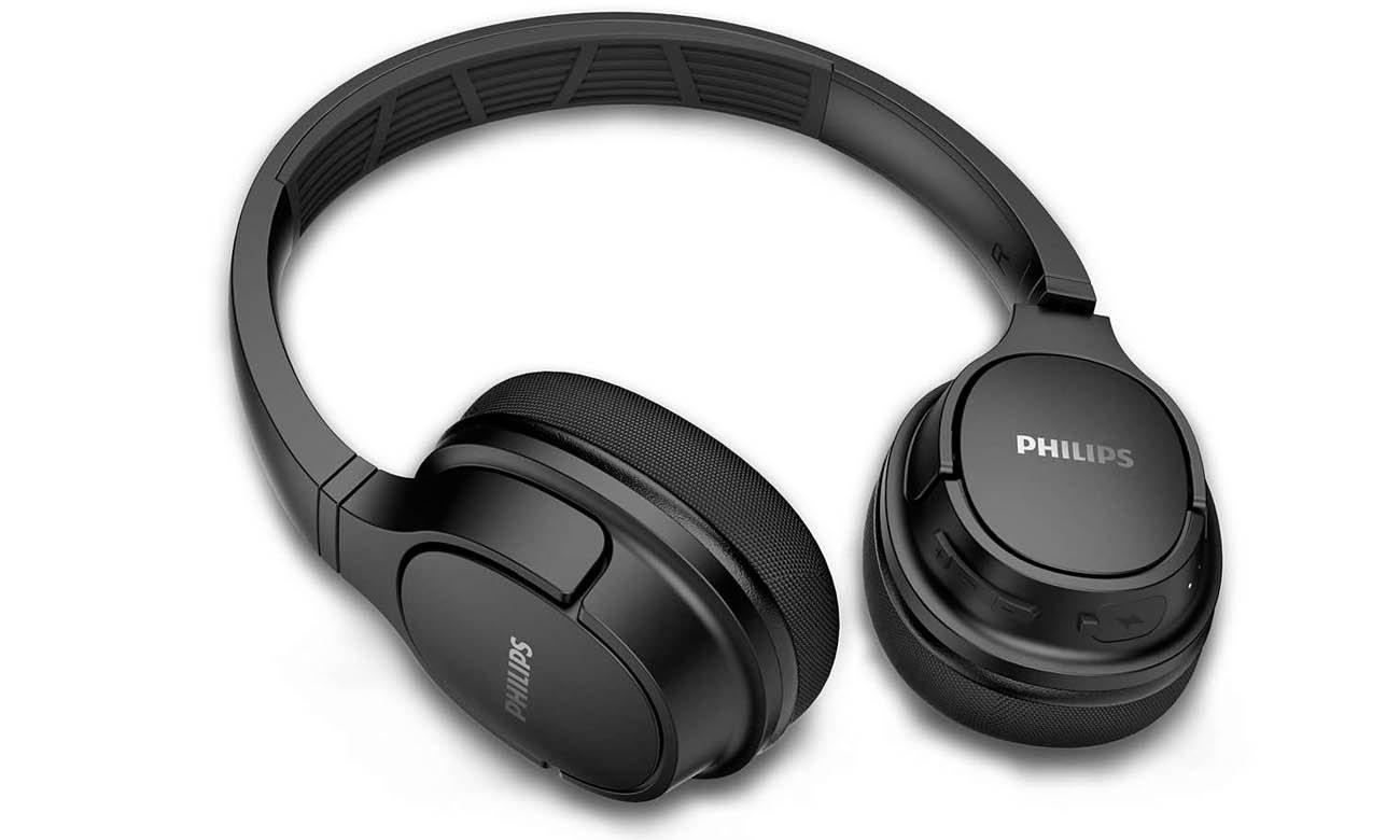 20 godzin odtwarzania z Słuchawkami Philips TASH402BK