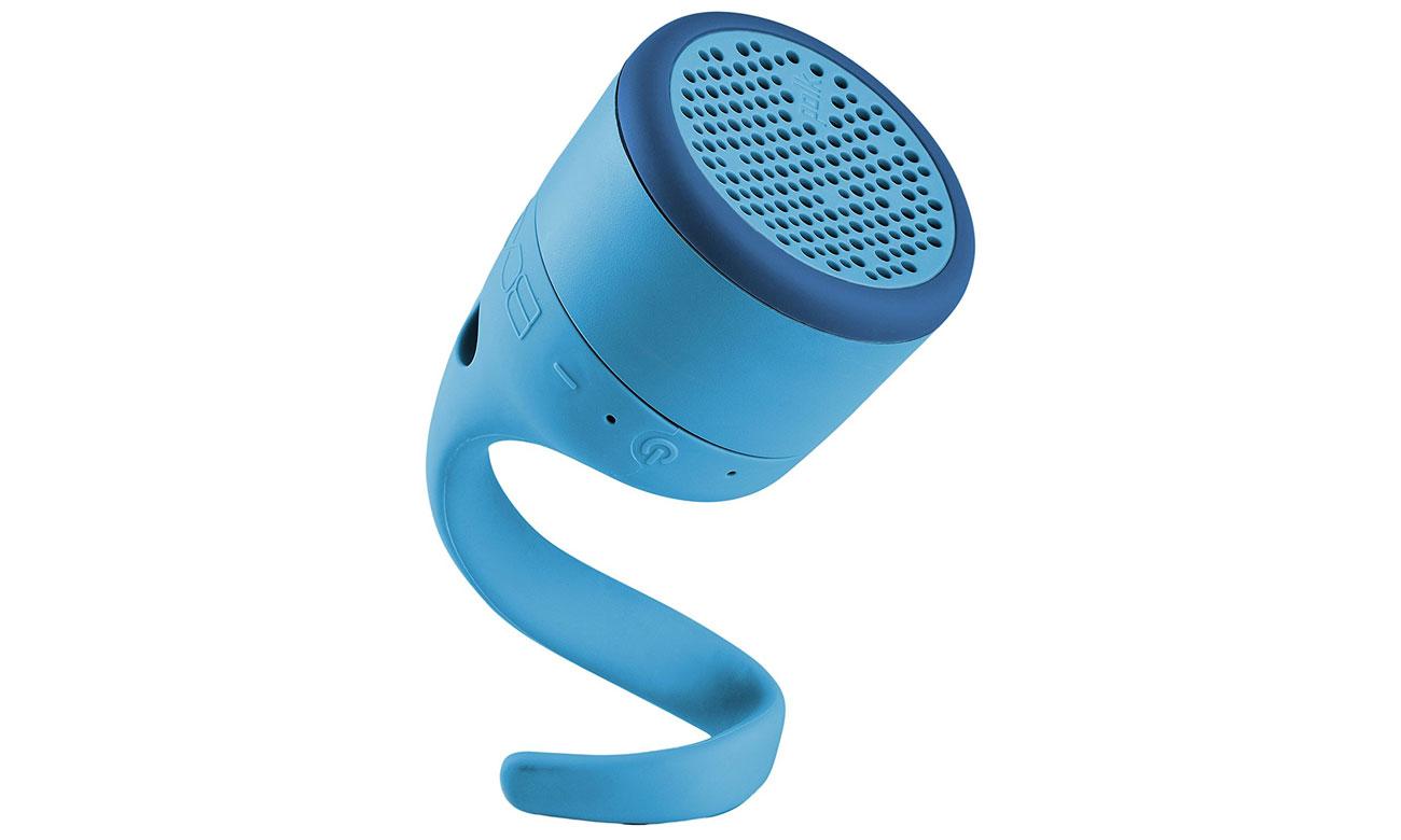 Praktyczny głośnik przenośny Polk Audio Swimmer Jr niebieski