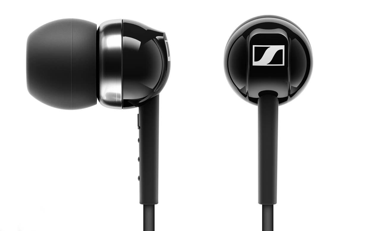 Słuchawki dokanałowe Sennheiser CX 100 czarne