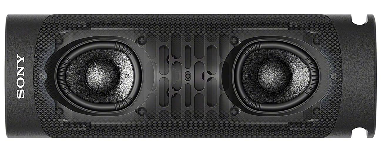 X-Balanced Speaker Unit i EXTRA BASS w Sony SRS-XB23