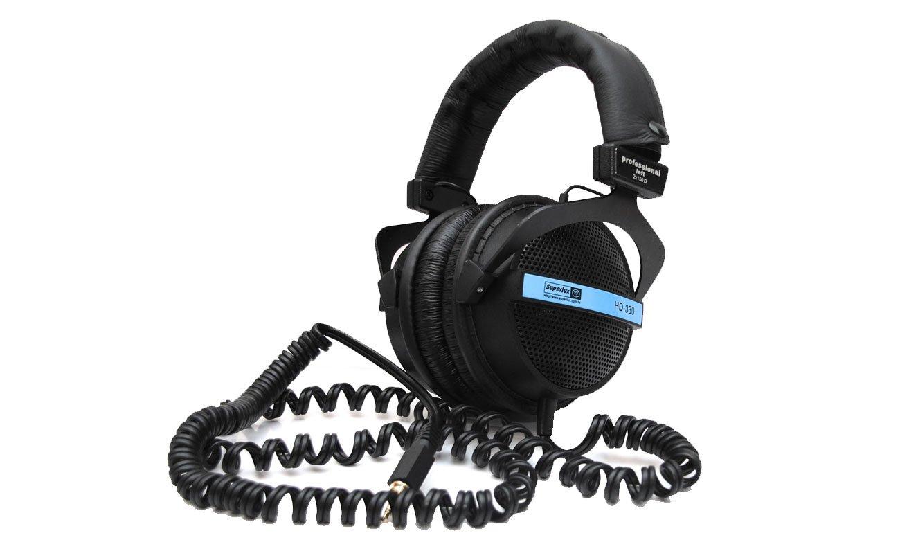 Wygodne słuchawki nauszne HD330