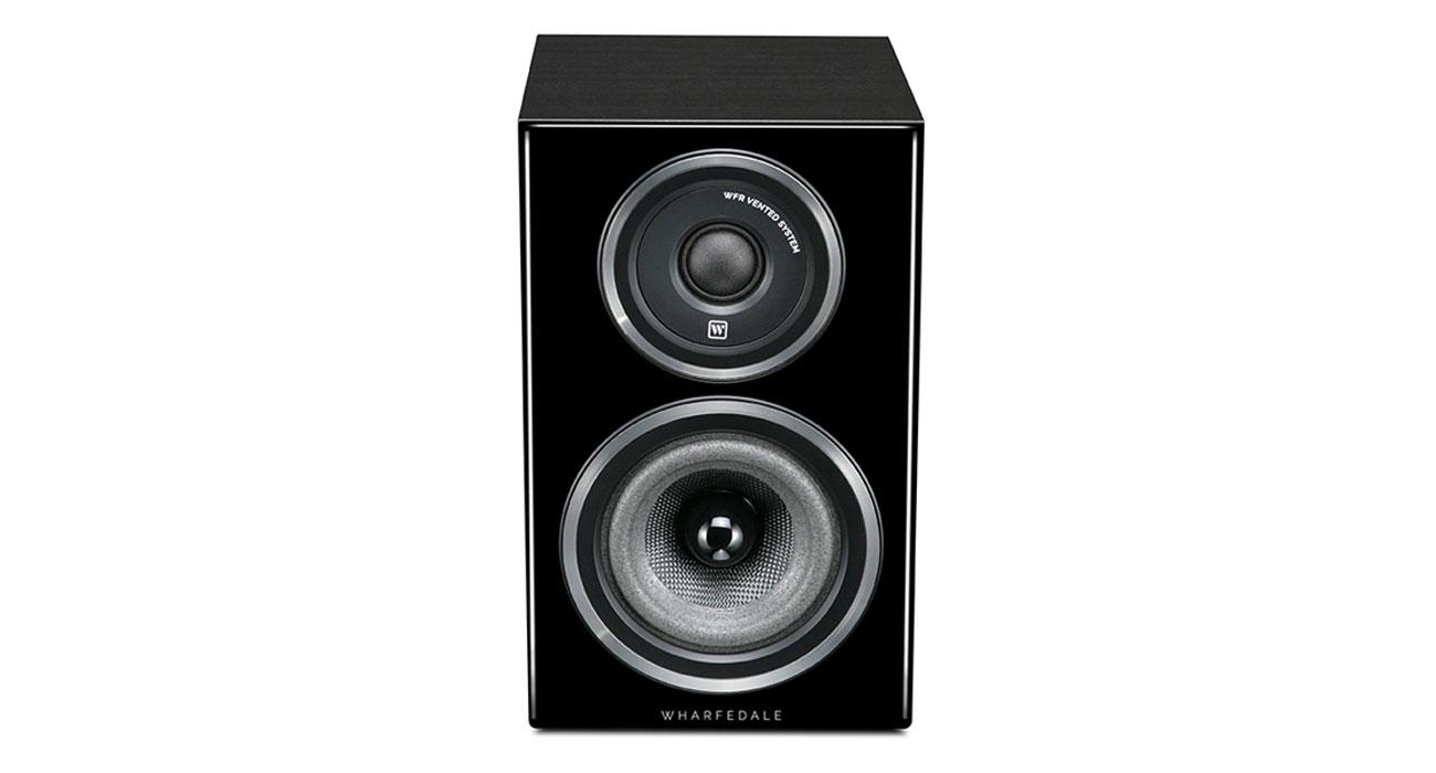 Czarny, drewniany głośnik Wharfedale DIAMOND 11.0 Blackwood