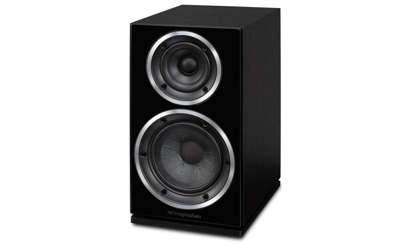 Czarna Kolumna głośnikowa Wharfedale DIAMOND 220 w kolorze blackwood