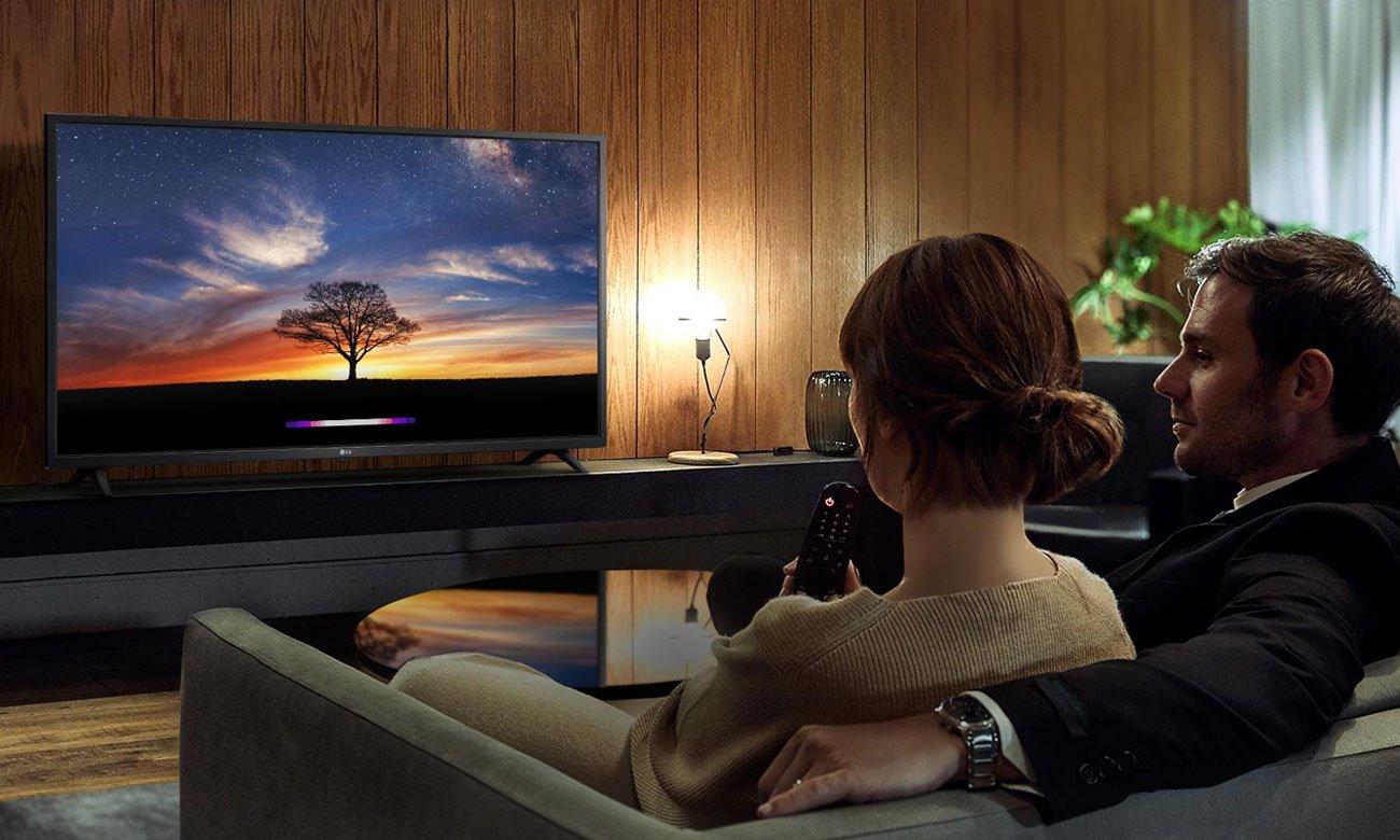 Sztuczna inteligencja i polecenia głosowe w TV LG 43LM6300