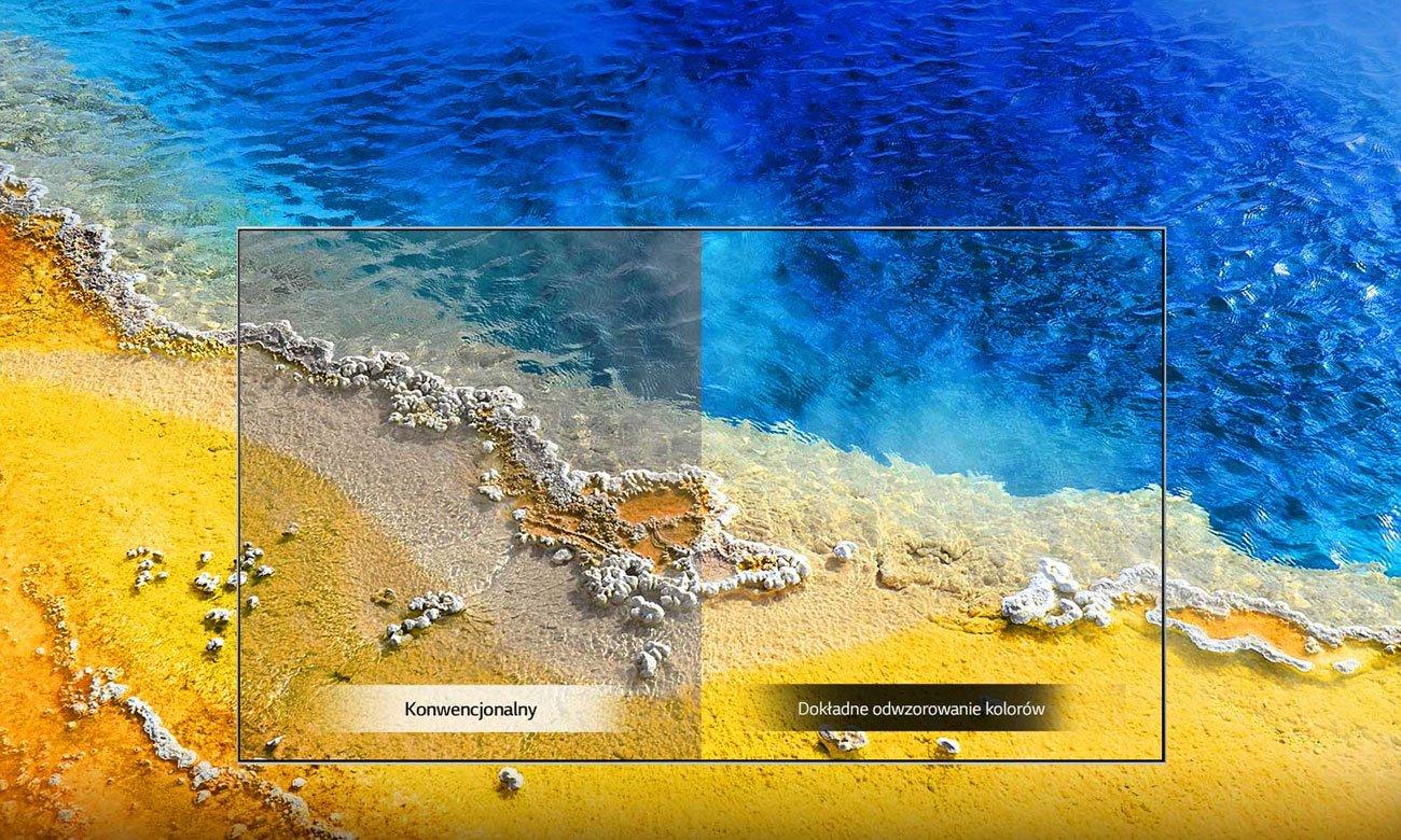 Lepszy kontrast w telewizorze LG 43UM7600