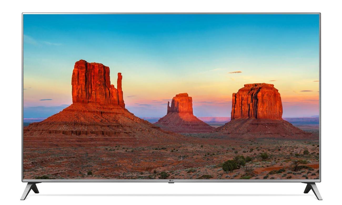 Duży telewizor UHD 4K LG 55UK6500