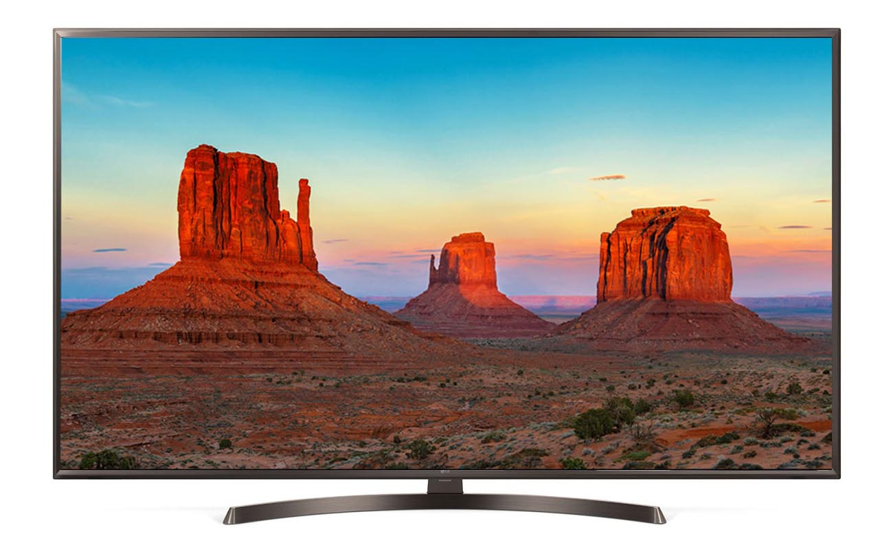 Telewizor UHD 4K LG 65UK6400 z czterordzeniowym procesorem
