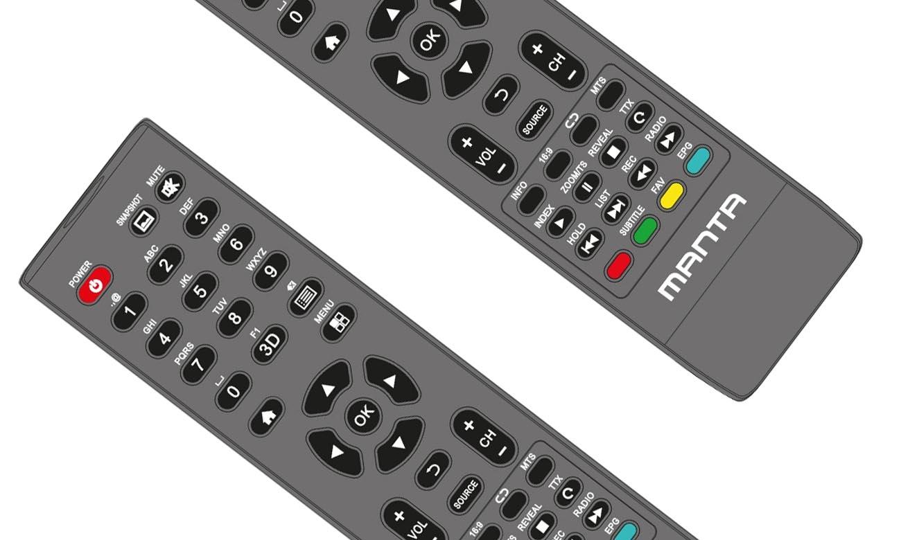 Telewizor Ultra HD Manta 43LUS68L z trybem hotelowym