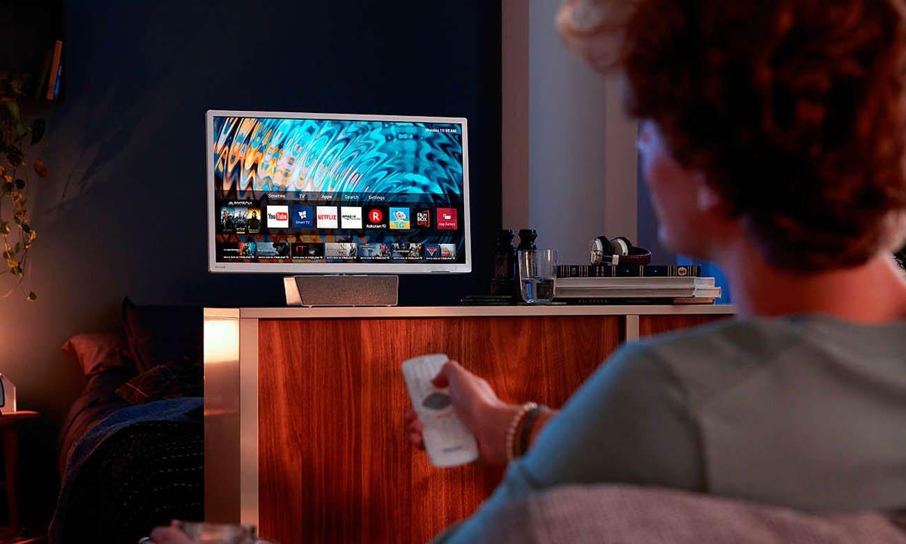 Platforma Smart TV Saphi w telewizorze Philips 32PFS5863