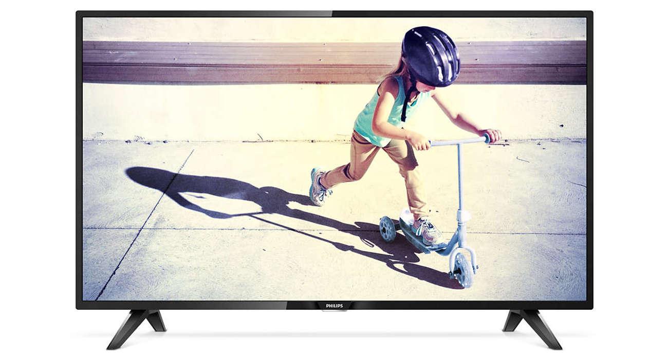 Wysoka jakość obrazu w tv Philips 43PFT4112