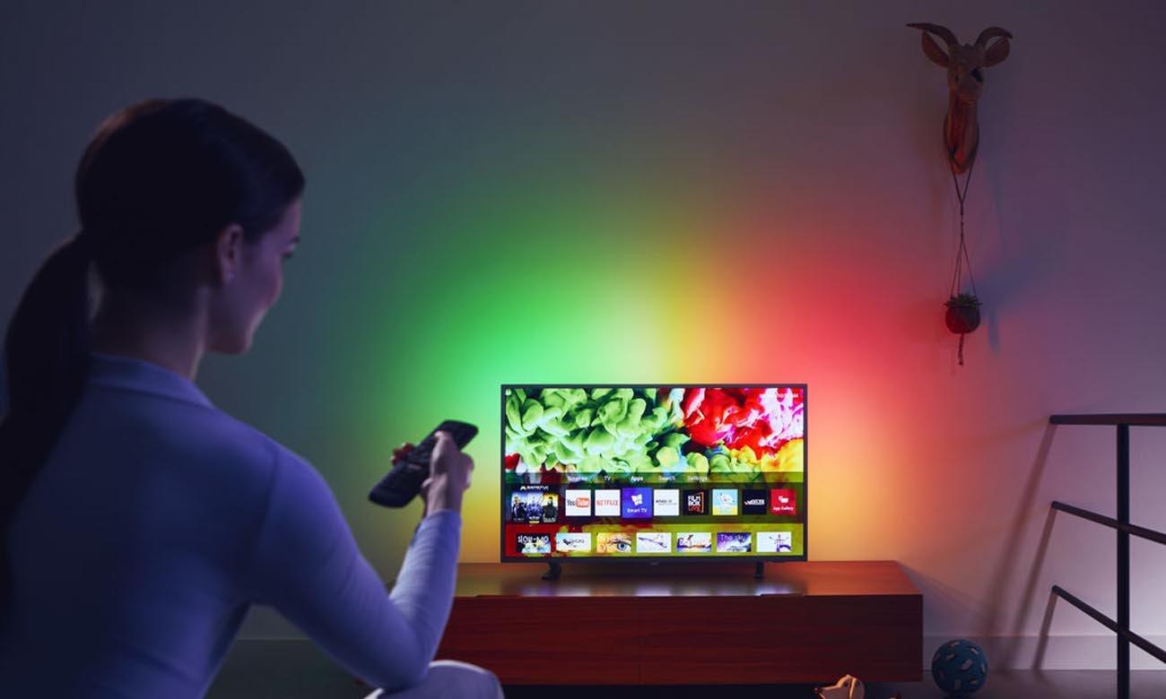 Telewizor 43 cali Philips 43PUS6703 z funkcją Smart TV