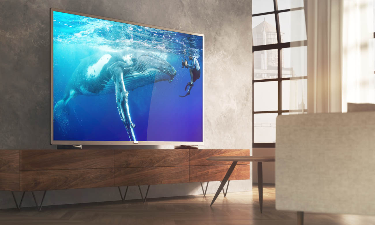 Procesor P5 Perfect Picture w TV Philips 43PUS7555