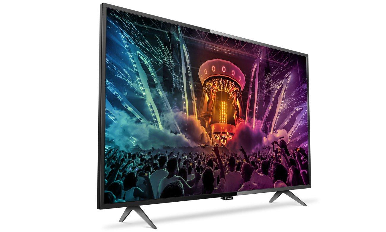 Elegancki i cienki telewizor LED 49 cali Philips