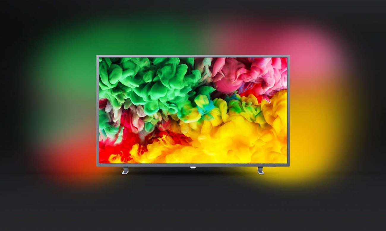 Podświetlenie Ambilight w tv Philips 50PUS6703