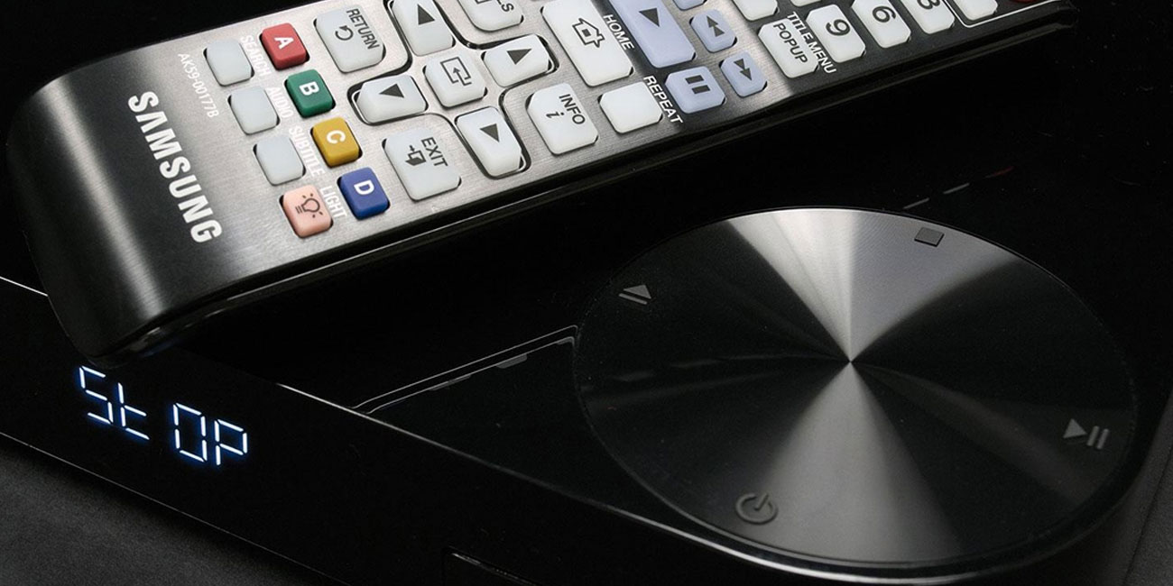 Odtwarzacz Blu-ray z obsługą 3D Samsung BD-H6500 czarny