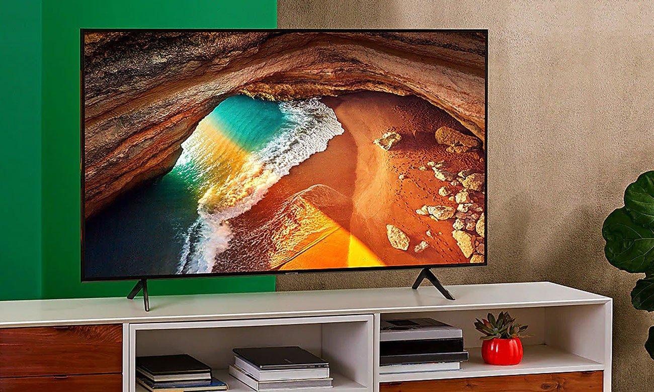 Parowanie telewizora QLED ze sprzętem Apple