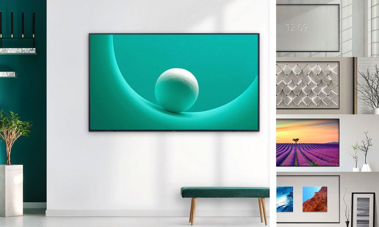 Tryb Ambient w telewizorze QLED Samsung QE65Q60RA