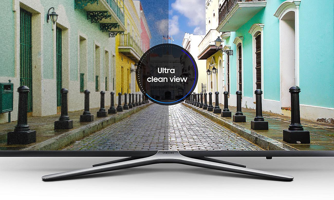 Ultra Clean Viev na ekranie telewizora UE32M5522