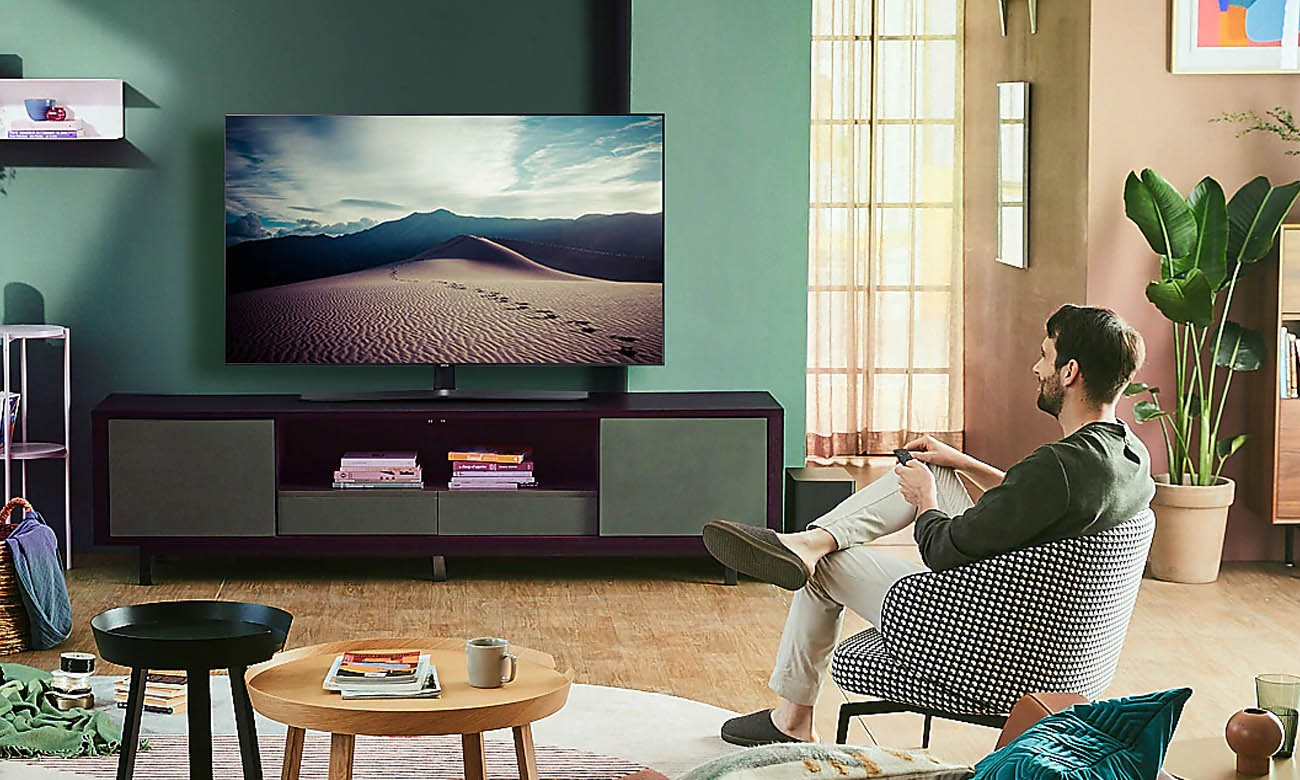 Telewizor z trybem Ambient Samsung UE43TU8502