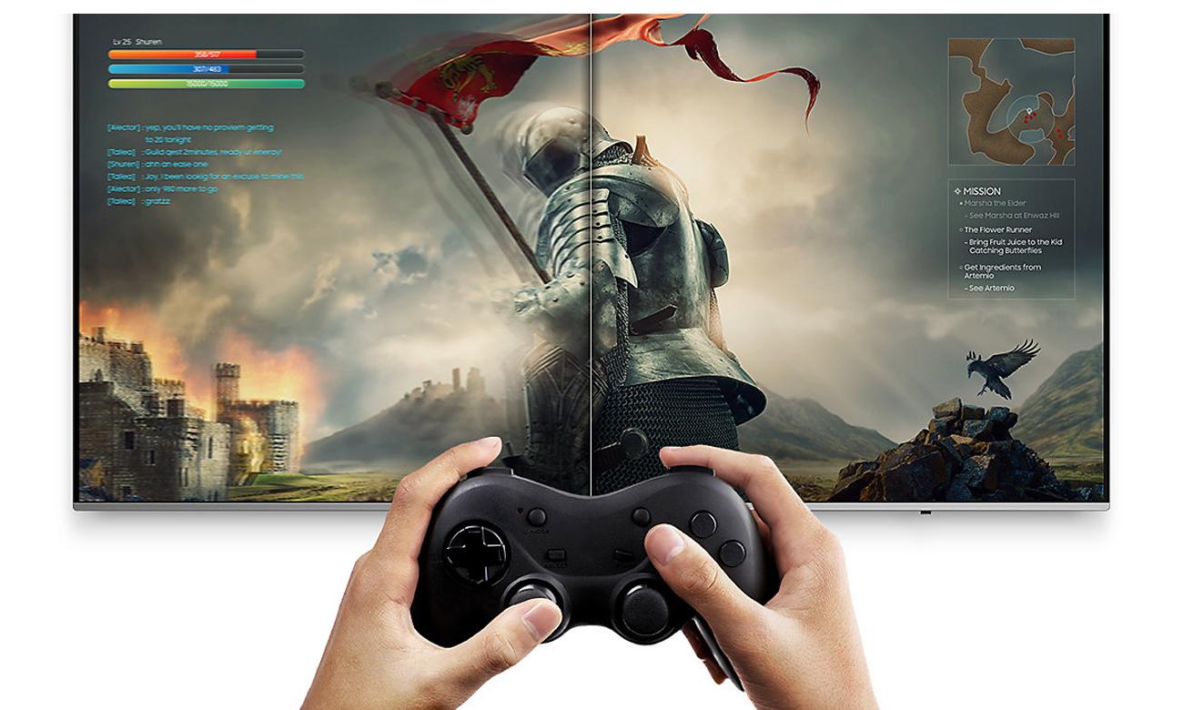 Steam Link - strumieniuj ulubione gry na ekranie Samsung UE49NU8002