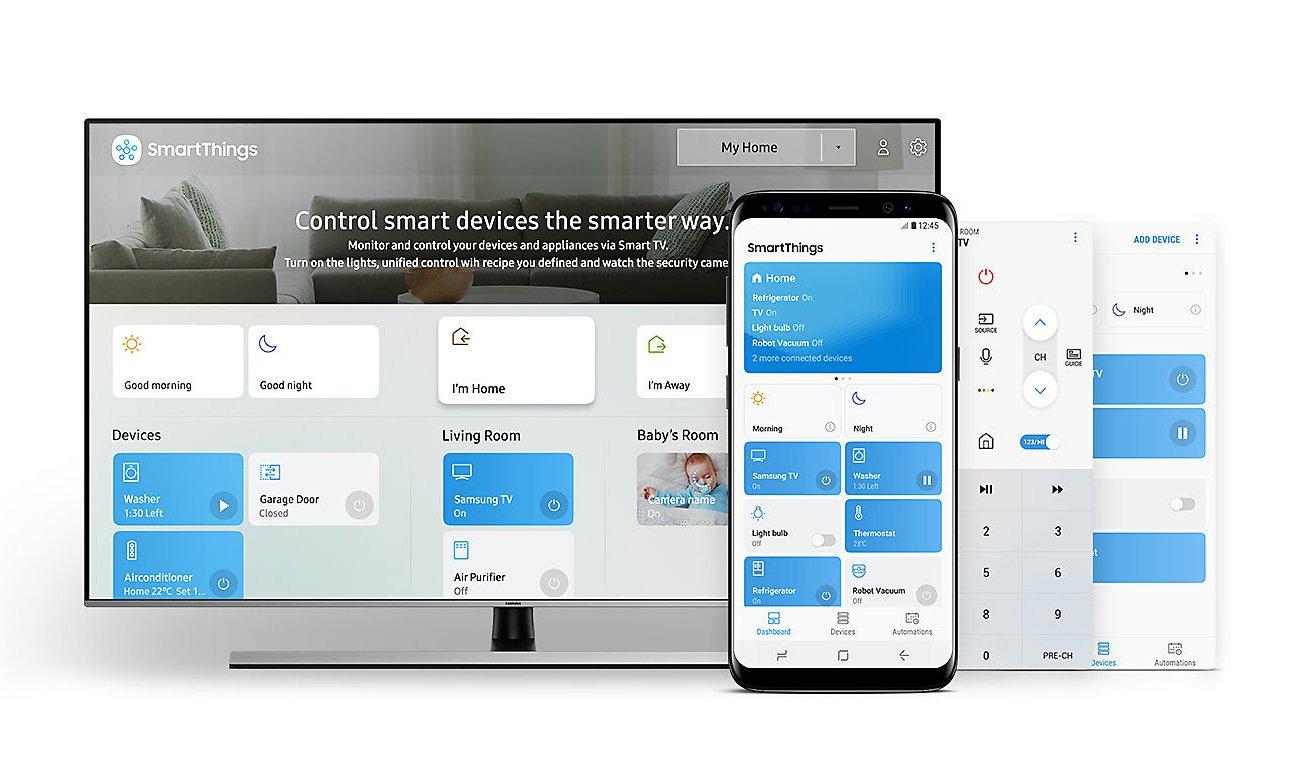 Aplikacja SmartThings