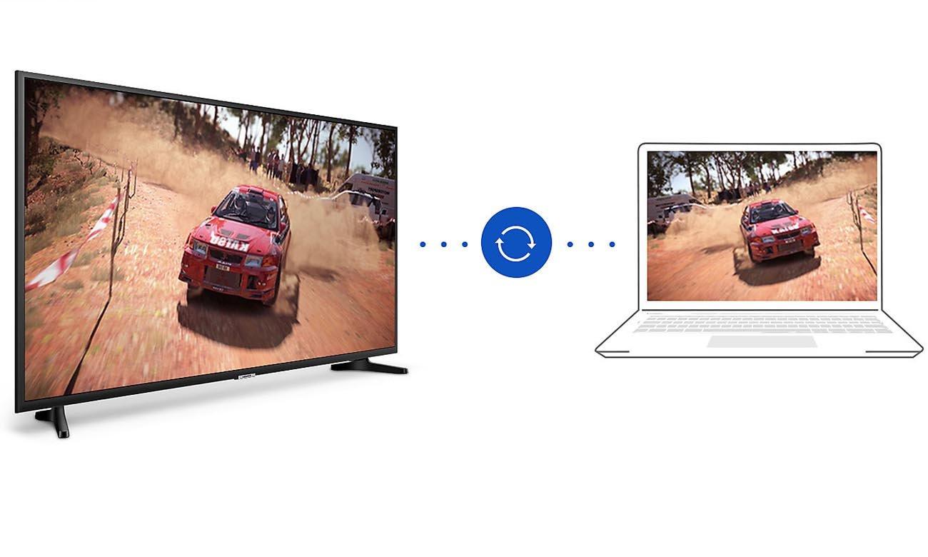 Połączenie wifi Samsung UE55NU7092