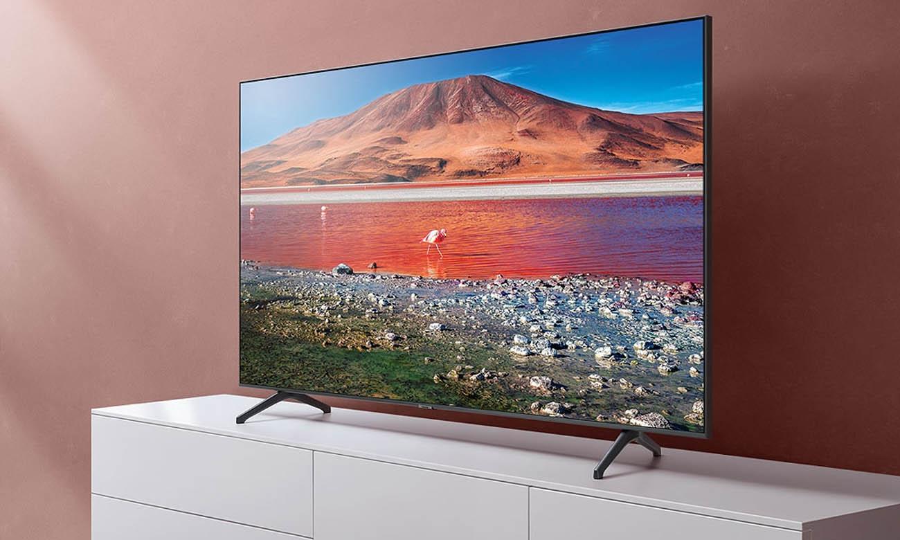 Procesor Crystal 4K w TV Samsung UE55TU7002