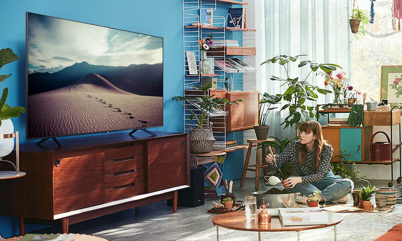 Procesor Crystal 4K w TV Samsung UE55TU7022
