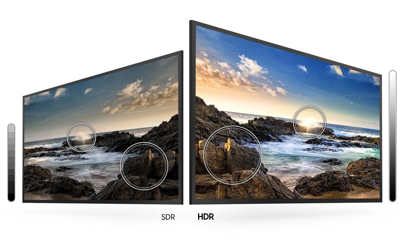 Telewizor 4K Samsung UE55TU7102 z technologią HDR