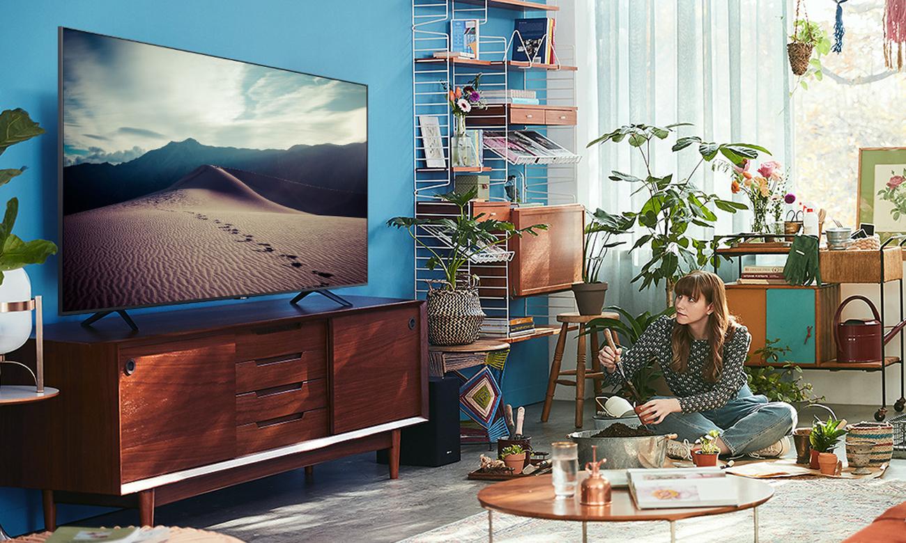 Procesor Crystal 4K w TV Samsung UE55TU7122
