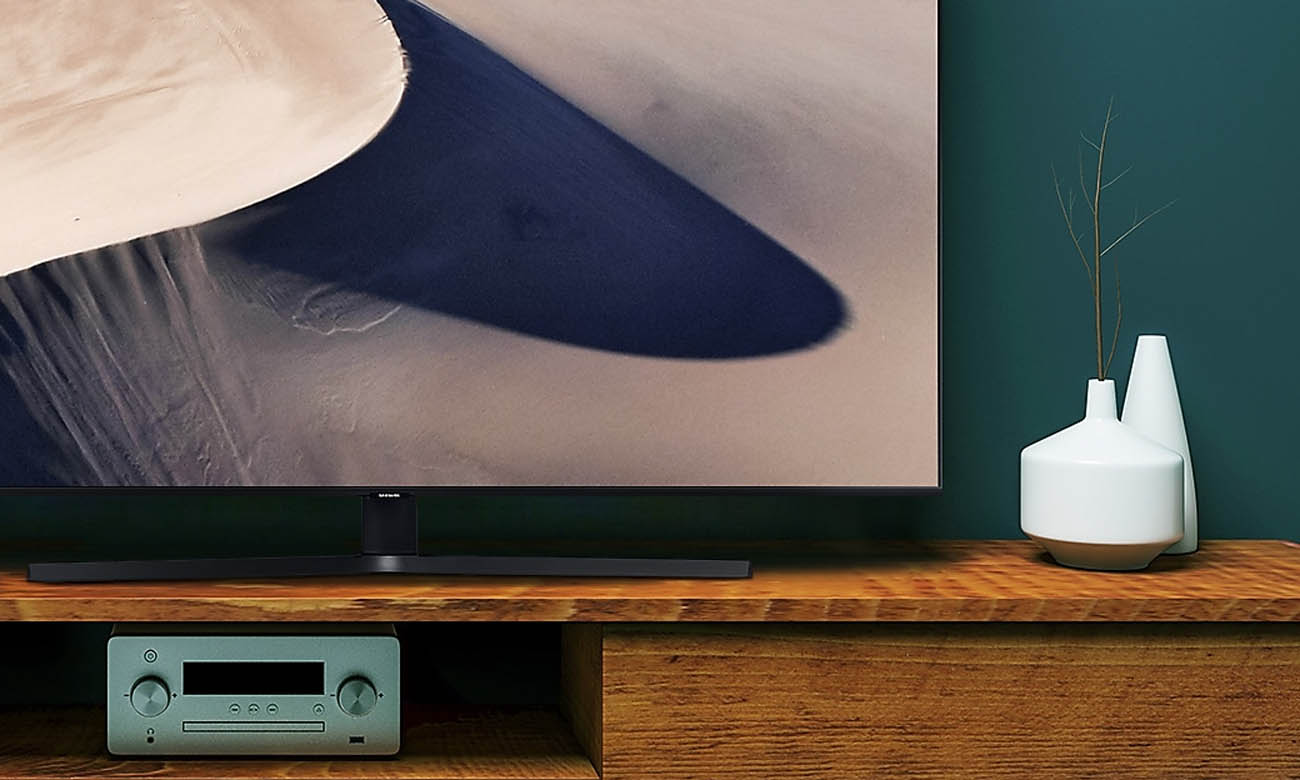 Procesor Crystal 4K w TV Samsung UE55TU8502 HDR
