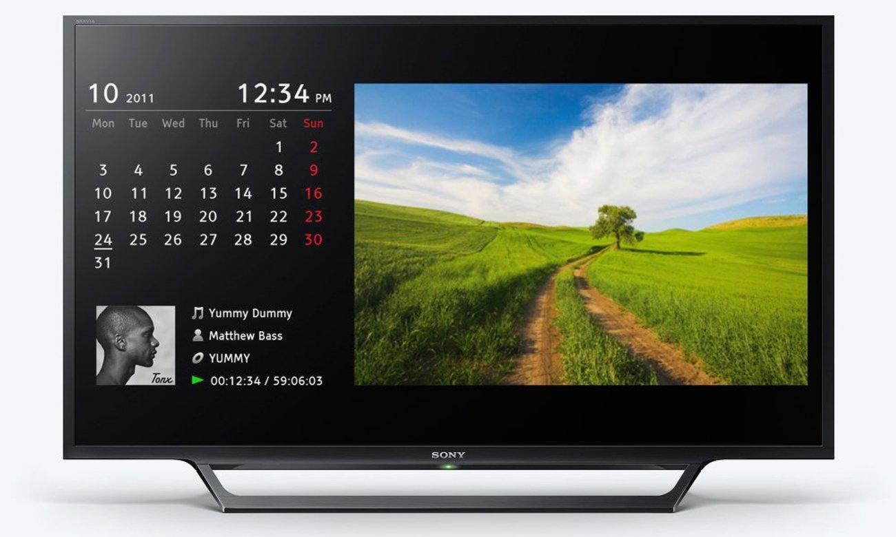 Funkcje telewizora Sony KDL-32RD430