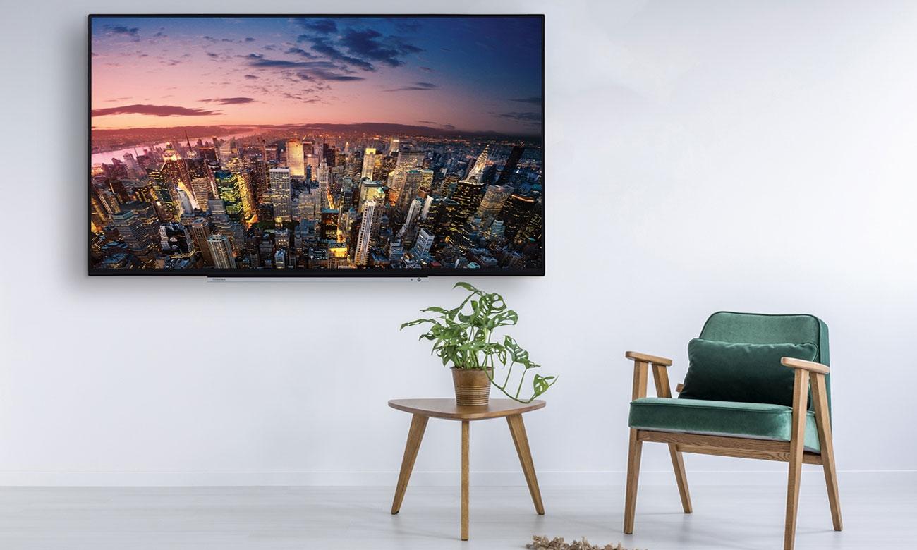 Duży telewizor z smart tv TCL U60P6026