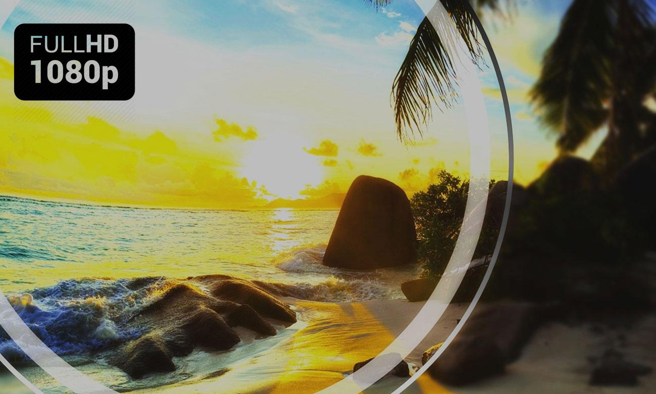 Rozdzielczość Full HD w telewizorze Toshiba 48L3663DG