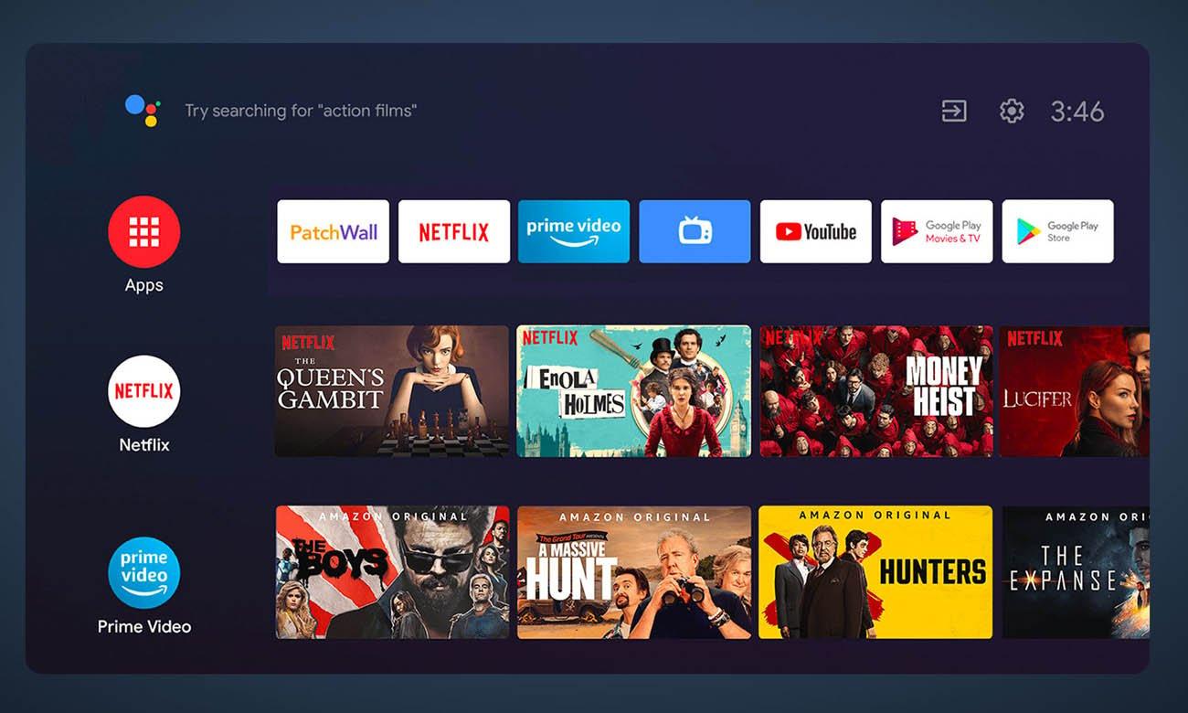 Telewizor Xiaomi Mi TV P1 z Android TV