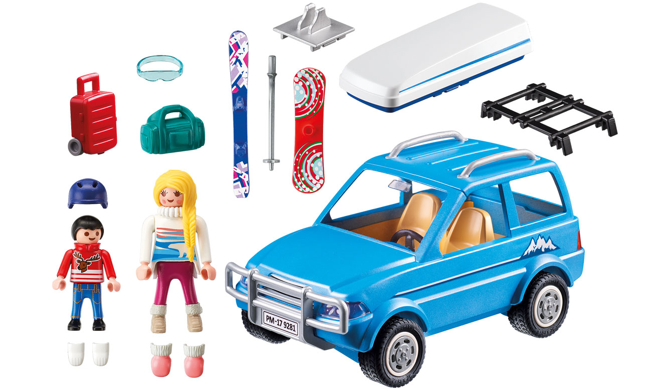 PLAYMOBIL Auto z boxem dachowym