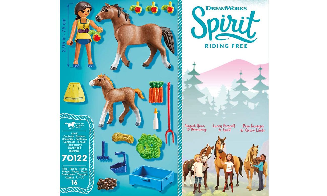PLAYMOBIL® Spirit Riding Free 70122