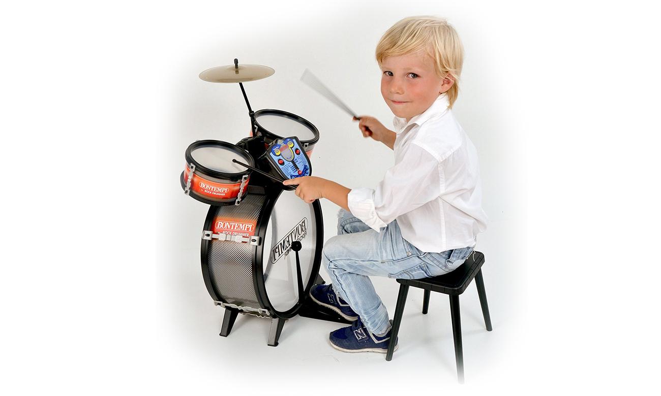 Bontempi STAR - Perkusja 4 el. z elektronicznym pulpitem