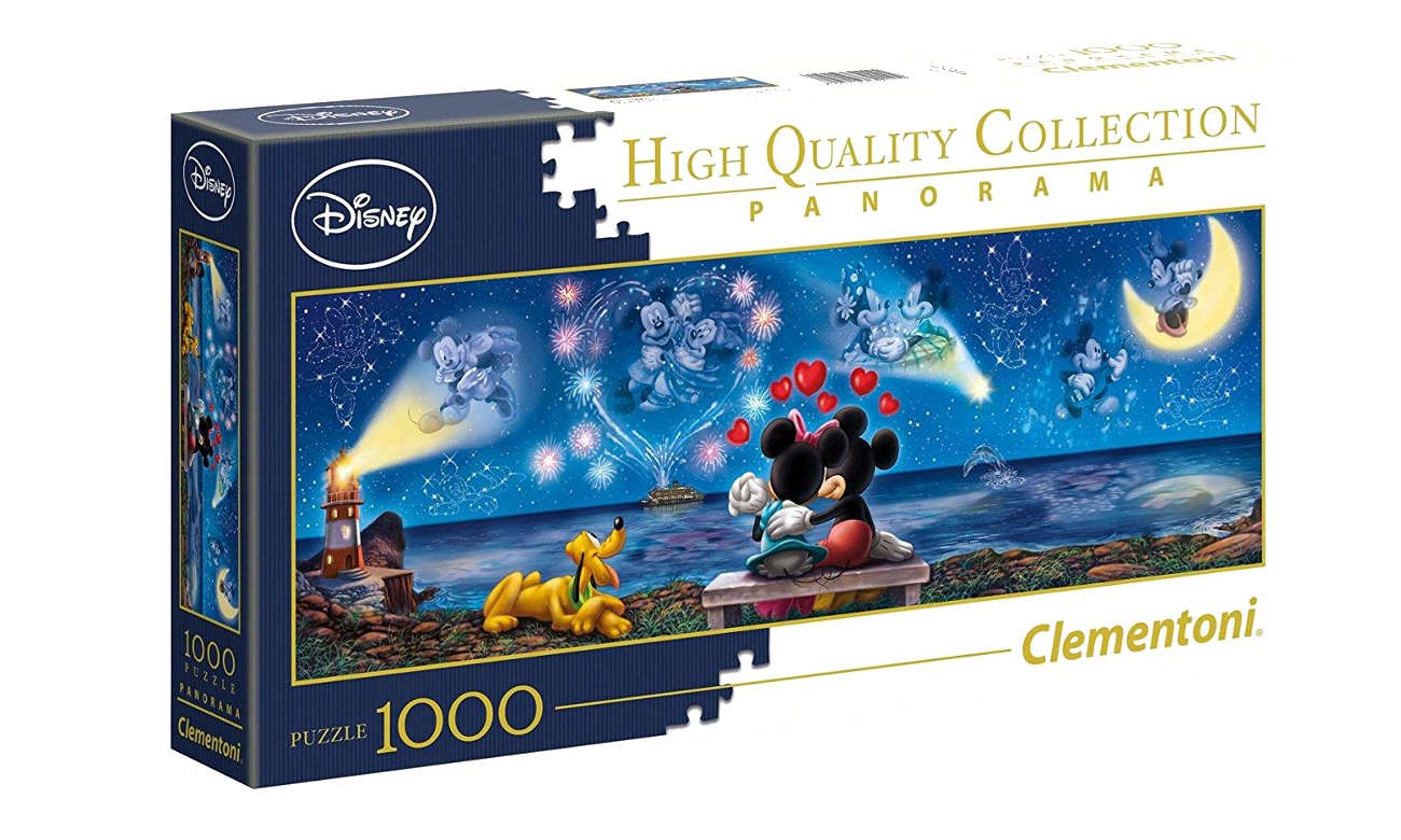 Clementoni Puzzle Disney Panorama Mickey e Minnie 39449
