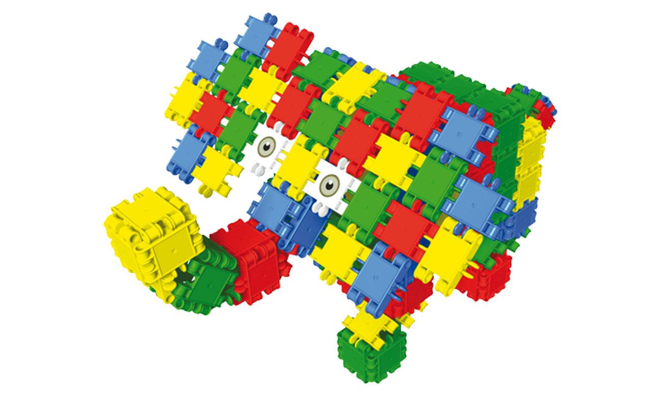 Słoń z klocków zestaw CLICS FB001