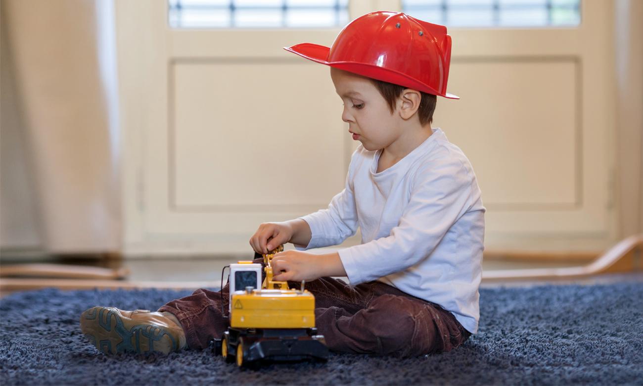 spychacz zabawki budowalne dickie toys
